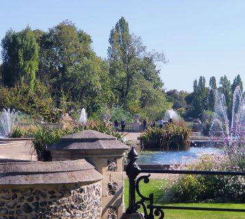 Italian Gardens Hyde Park