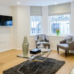 Luxury short stay serviced apartment