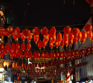 Chinese Lanterns New Year